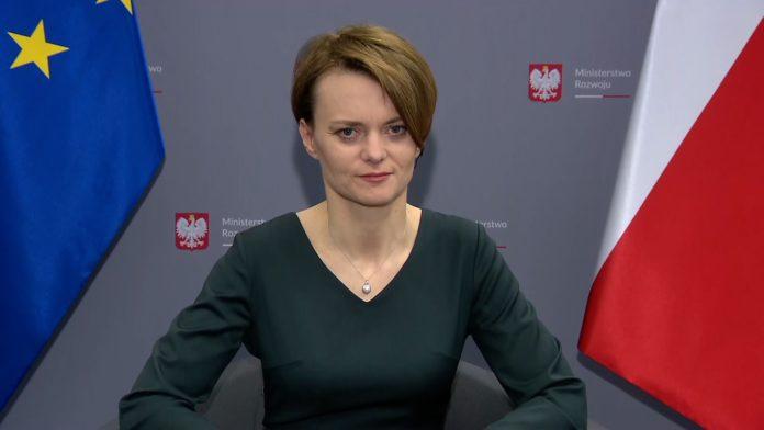 Wicepremier Jadwiga Emilewicz