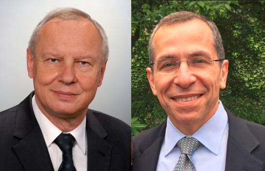 prof. Jerzy Nawrocki i prof. Marco Zarbinf.