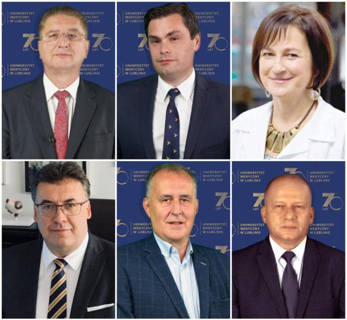 Prorektorzy UM w Lublinie