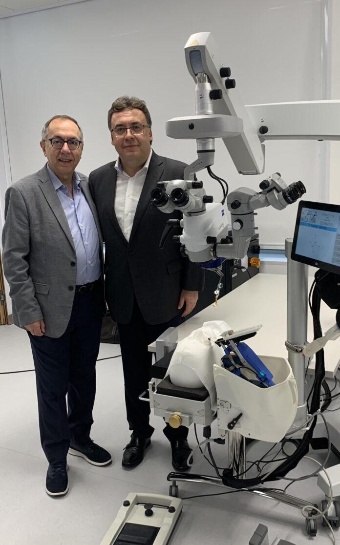 Prof. R. Rejdak i prof. G. Guarnacia