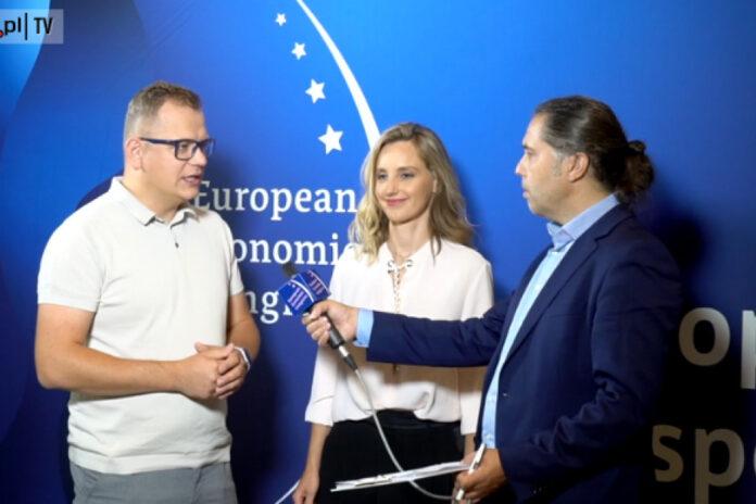 Olga Malinkiewicz i Dawid Zieliński