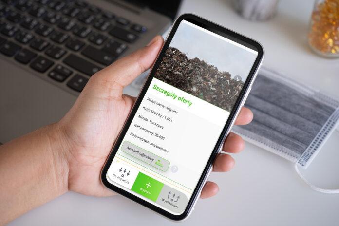 Aplikacja do gospodarowania odpadami