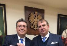 Prof. Wojciech Załuska i prof. Robert Rejdak