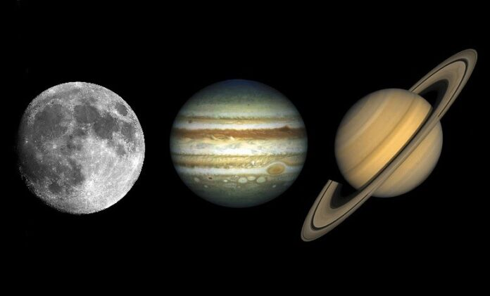 Jowisz i Saturn