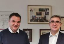 Prof. Aleksander Nawrat i ks. prof. Stanisław Dziekoński