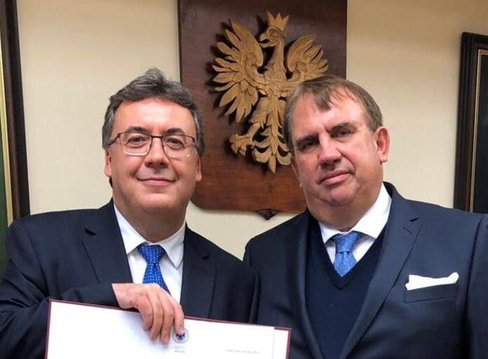 Prof. Robert Rejdak i prof. Wojciech Załuska