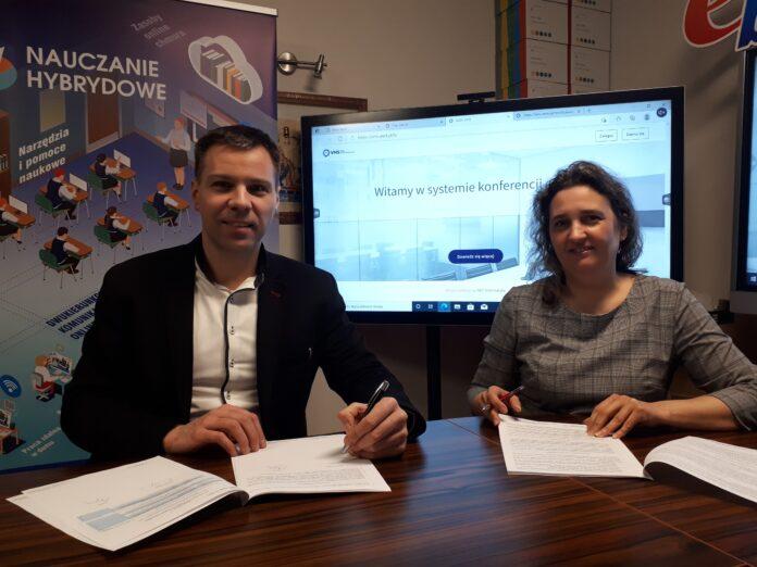 Kamil Wójcik i Ewa Bondar