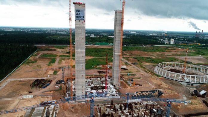 Elektrownia Ostrołęka w rozbiórce