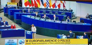 Debata w PE na temat Polski
